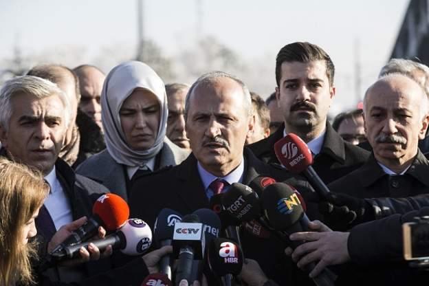 Ulaştırma ve Altyapı Bakanı Mehmet Cahit Turhan