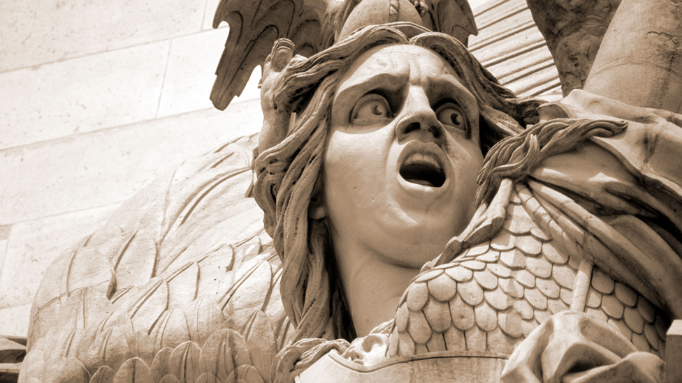 Detail from Arc de Triomphe showing La Marseillaise