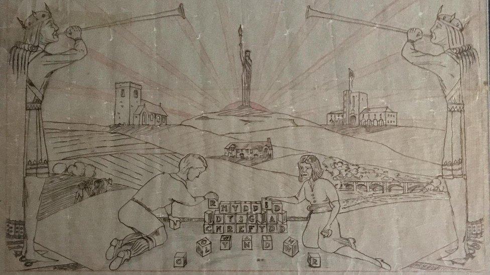 Bid to find Owen Roberts' lost artwork from 1937