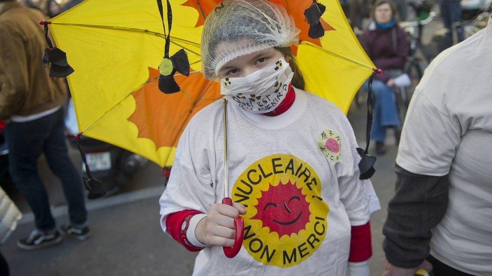 Antinuklearni protest u Francuskoj, 20. marta 2011.