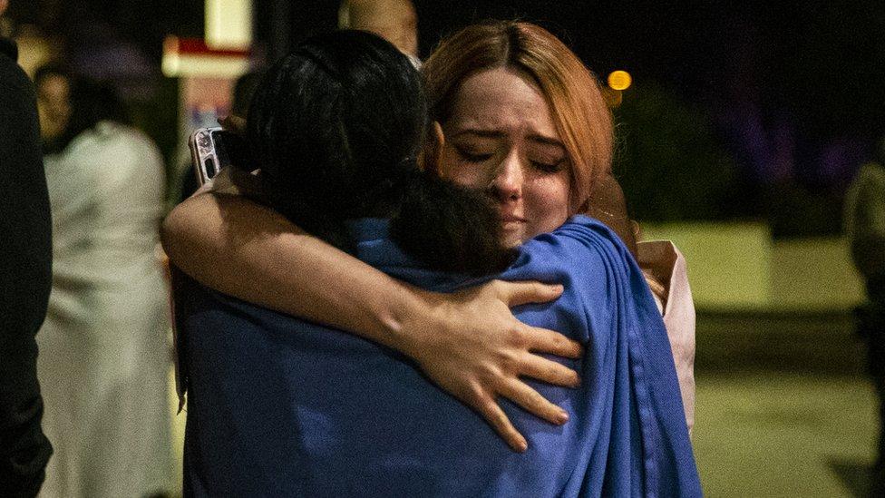 Sobrevivientes del tiroteo de Thousand Oaks, California