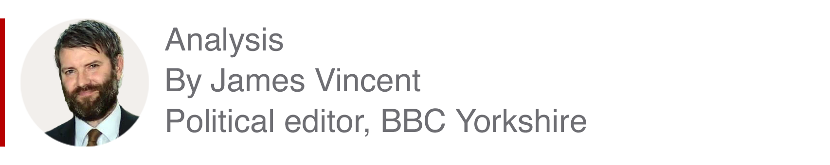 Analysis box by James Vincent, Political editor, BBC Yorkshire