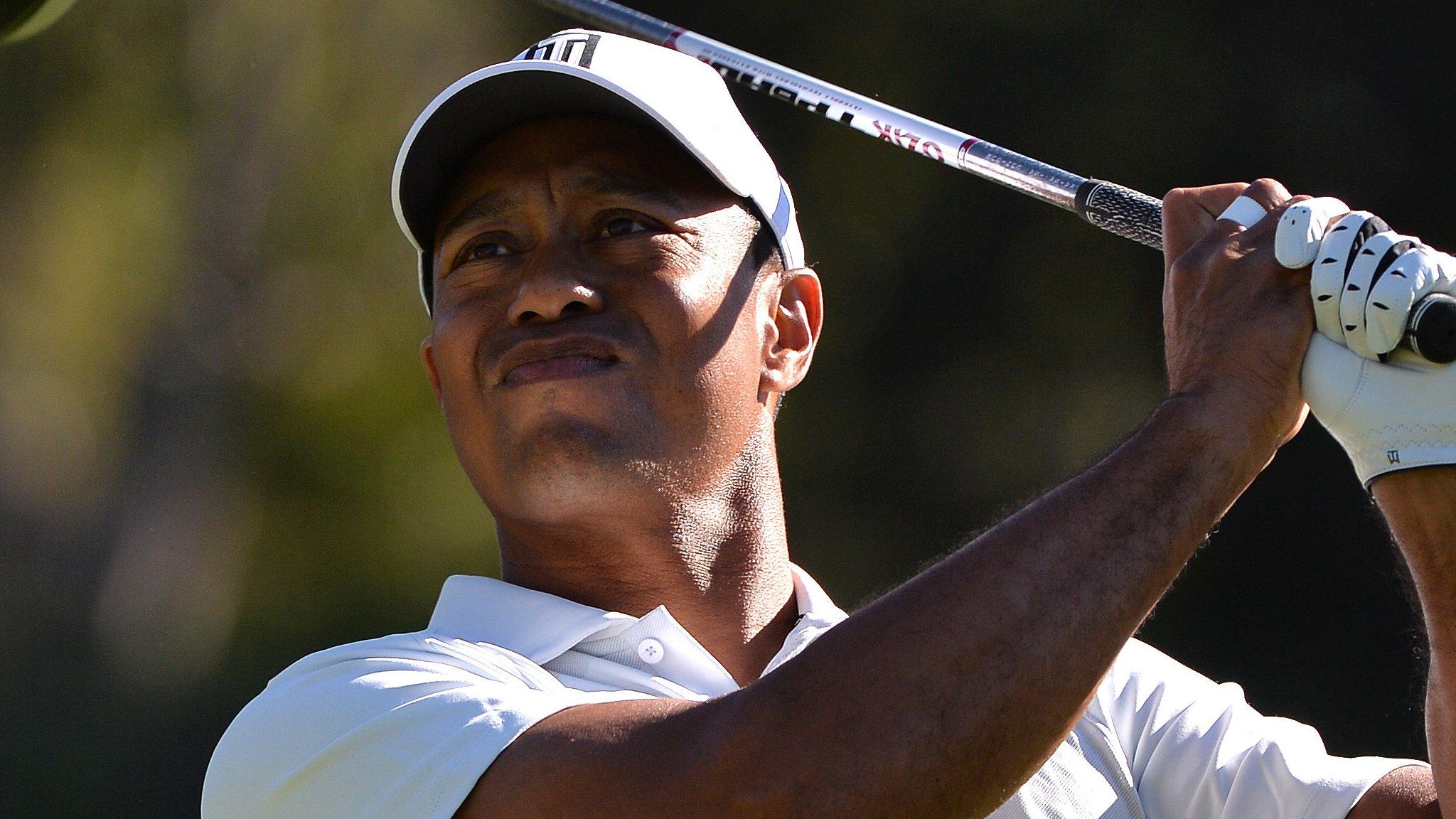 Genesis Open: Tiger Woods misses cut as Graeme McDowell in joint lead