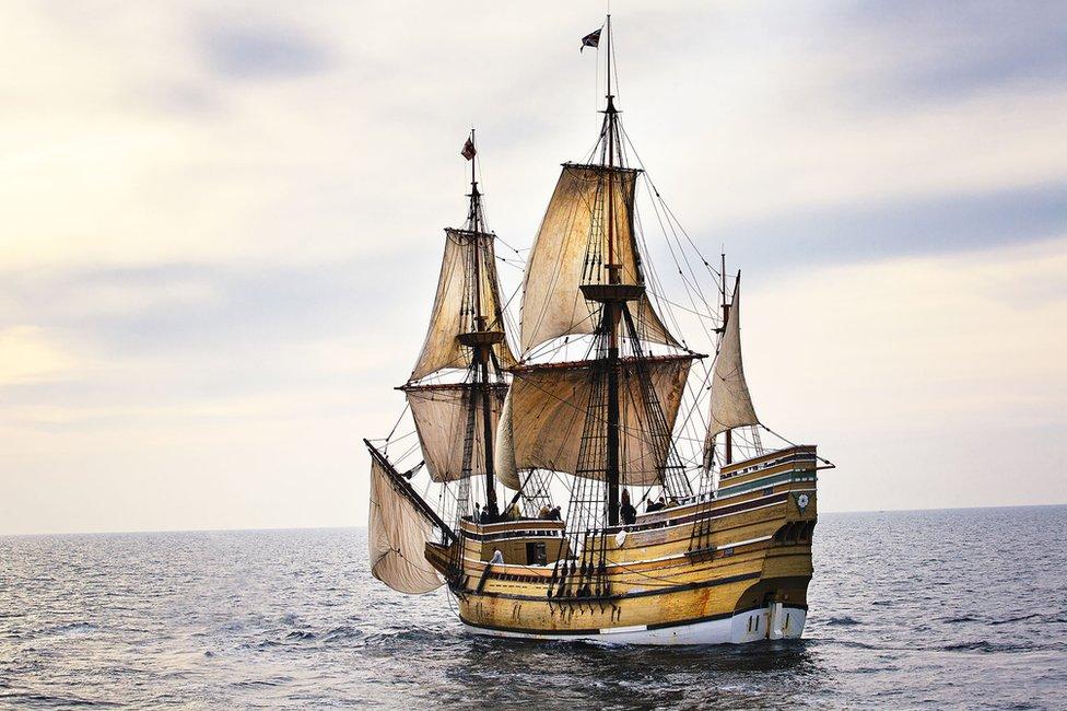 Mayflower anniversary: The replica ship that never set sail - BBC News