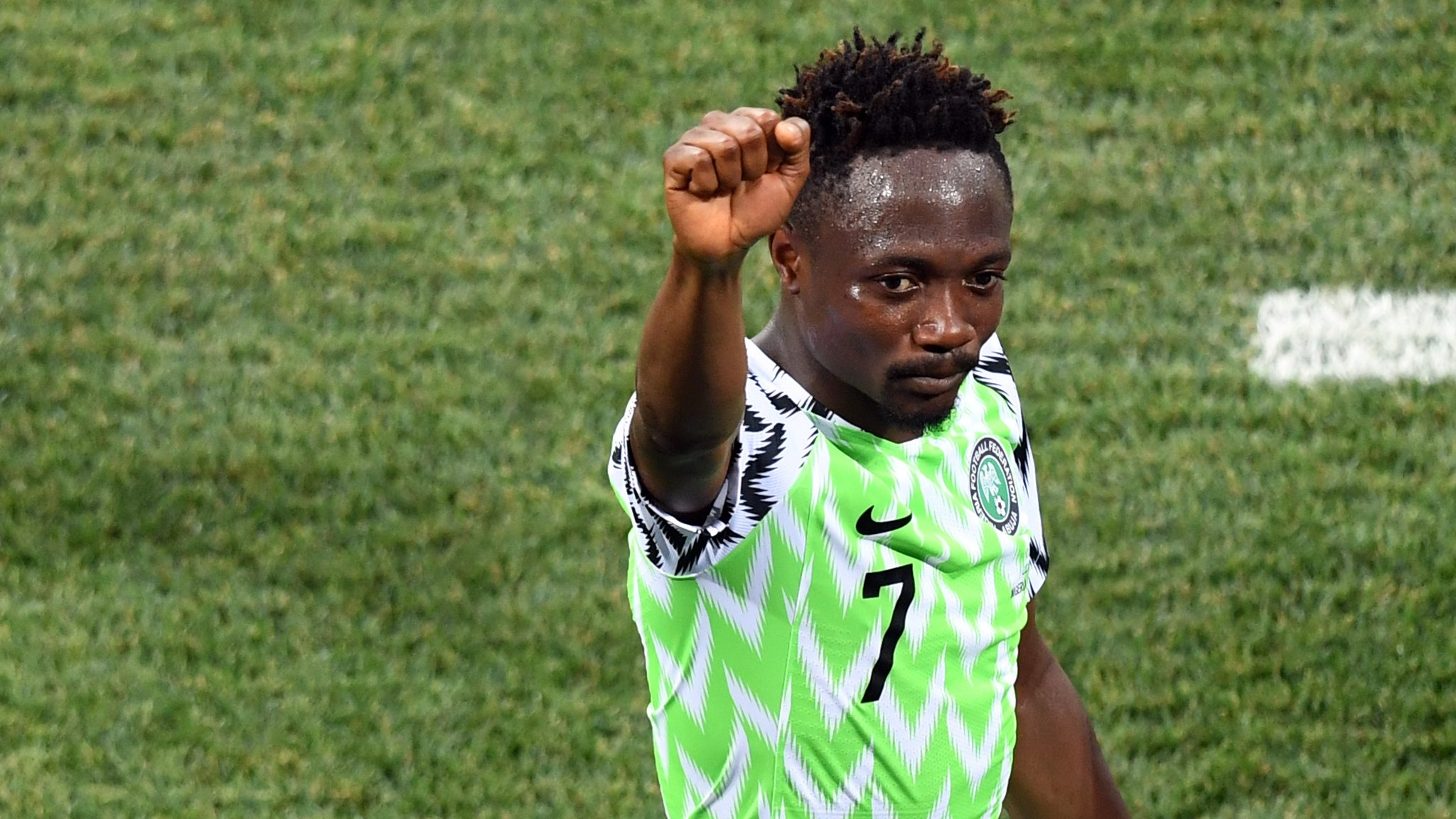 World Cup 2018: Nigeria v Iceland - Ahmed Musa is highest-rated player