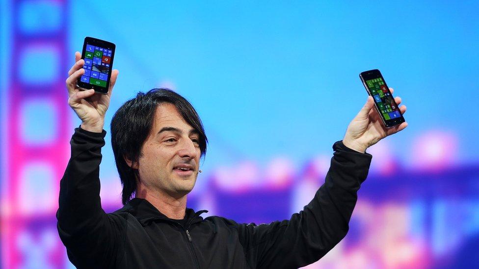 微軟的手機操作系統,無法挑戰蘋果和谷歌對市場的主導。