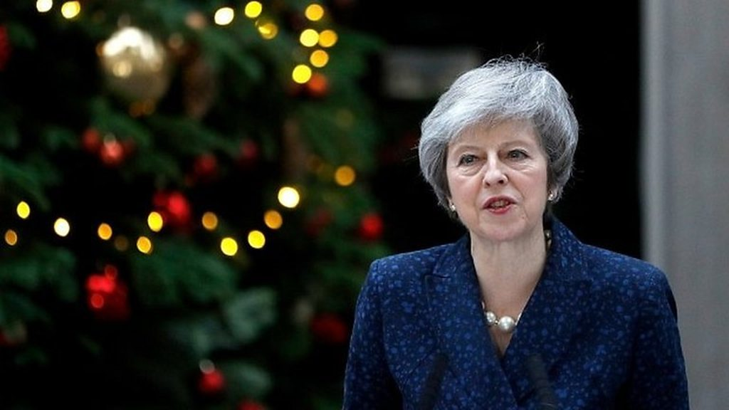 'I stand ready to finish the job' - May