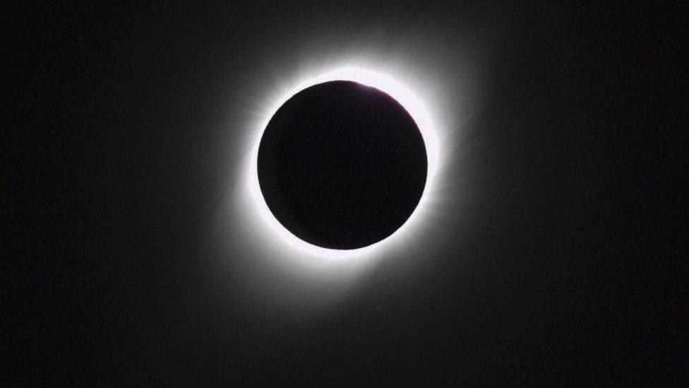 Eclipse solar total desde Argentina en 2019.