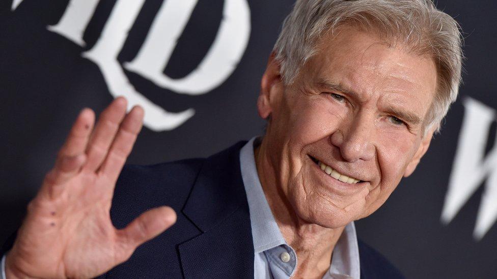 Harrison Ford in February 2020