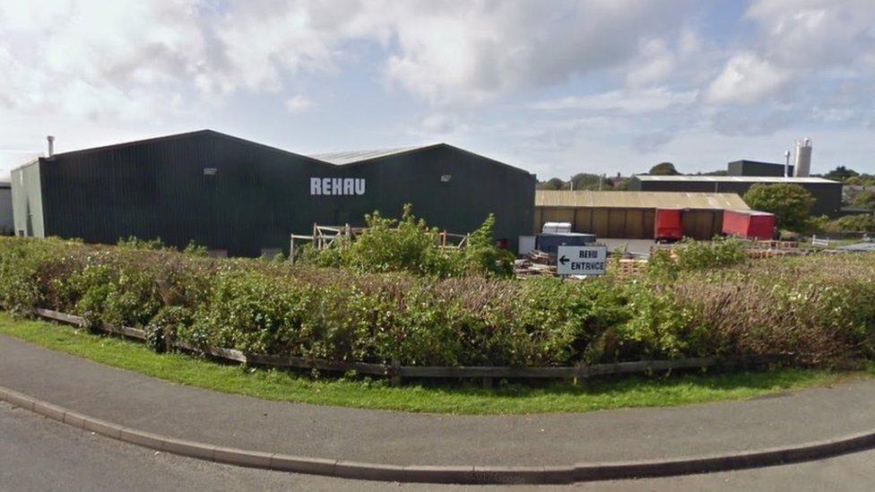 Rehau plastics plant in Amlwch to close by December