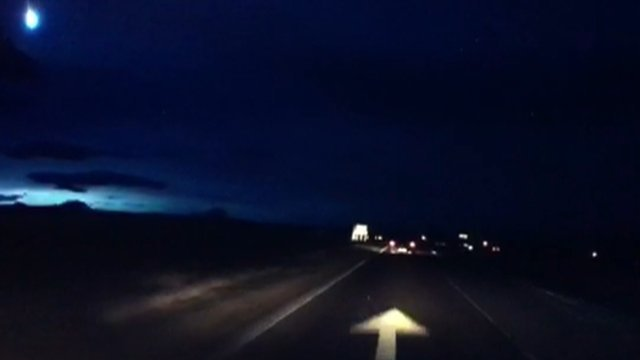 """Meteor"" caught on camera"
