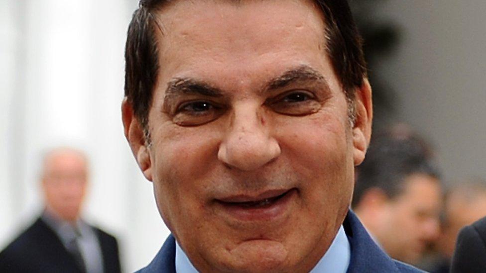 2010年, 時任突尼斯總統本·阿里(Zine El Abidine Ben Ali)