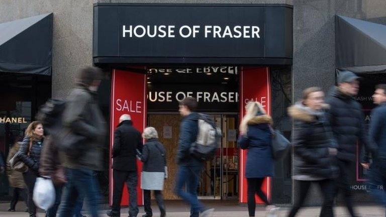 House of Fraser rescue plan approved