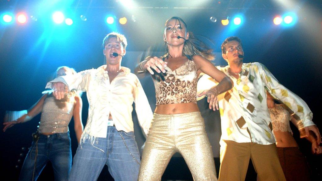 Steps performing in 2001