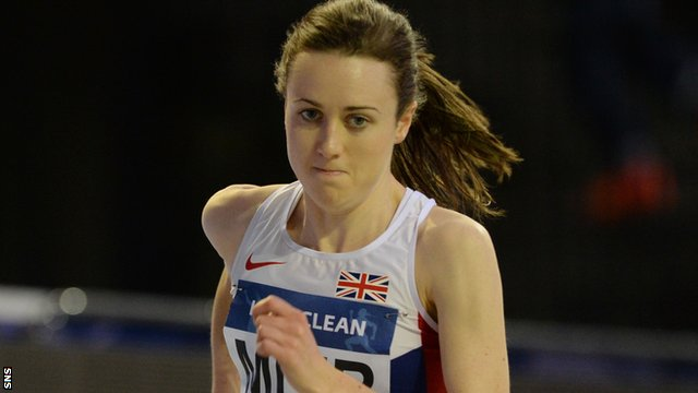 Laura Muir broke Yvonne Murray's 1994 Scottish mile record on Thursday