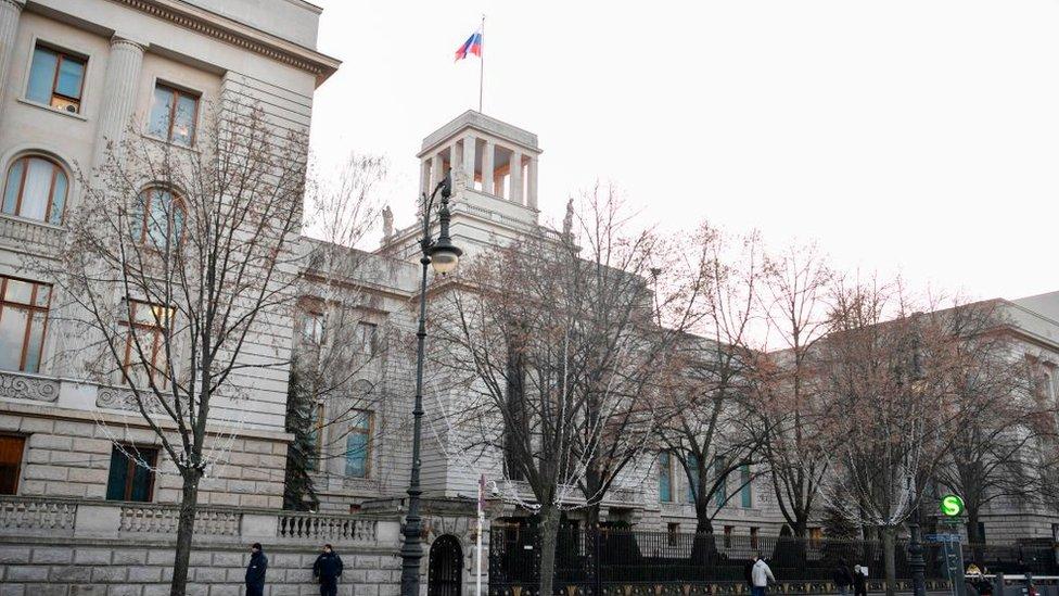 Embajada rusa en Berlín