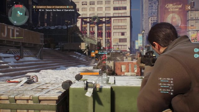 A screenshot from Tom Clancy's The Division