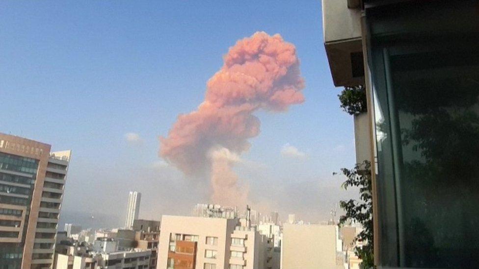 Eksplozija u Bejrutu
