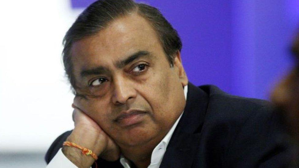 मुकेश अंबानी कांग्रेस प्रत्याशी मिलिंद देवड़ा के समर्थन में आए