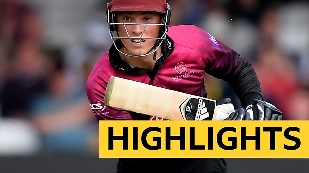 Watch: Banton's boundaries set up Somerset One-Day Cup win