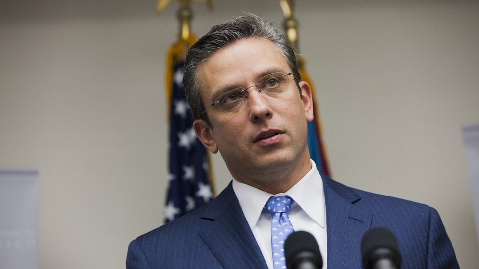 Governor Padilla of Puerto Rico