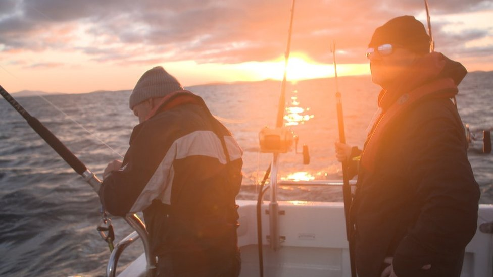Looking for Atlantic bluefin tuna off the Western Isles