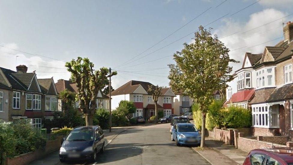 A Google street view shot of Polsted Road, Lewisham