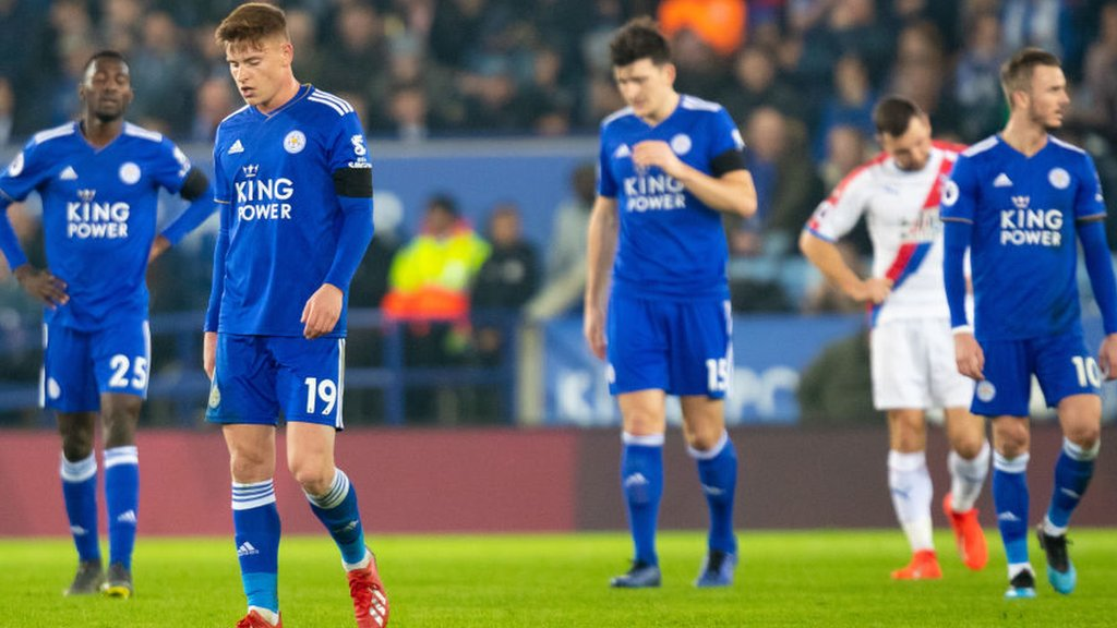 Leicester 1-4 Crystal Palace: 'It is normal for fans to be worried' says Puel