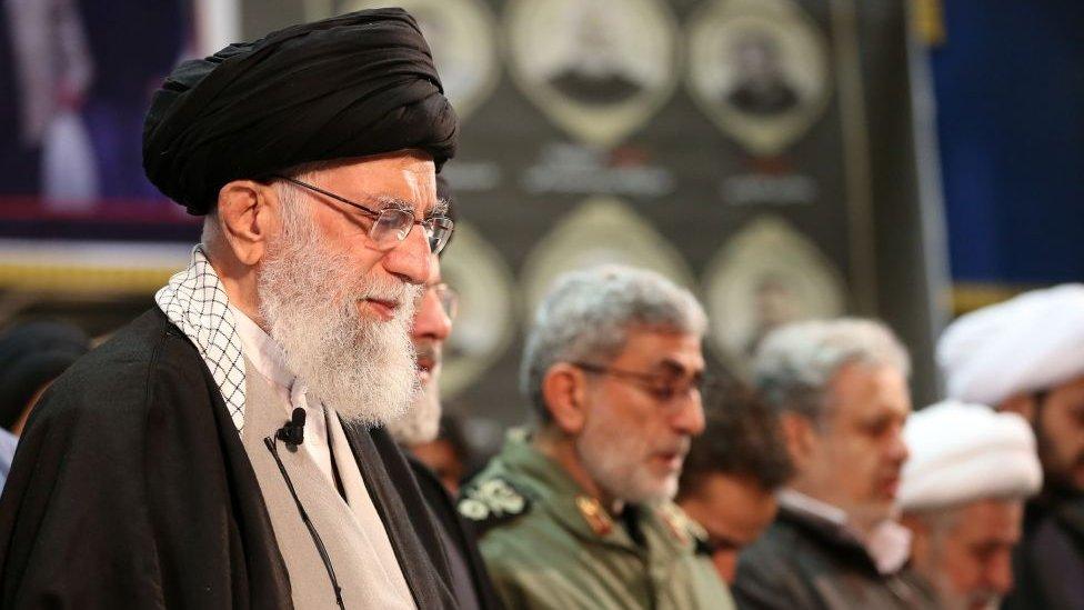 Alí Jamenei, líder supremo de Irán.