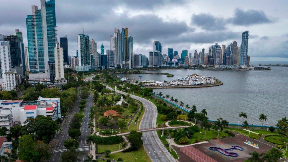 Una vista de Ciudad de Panamá