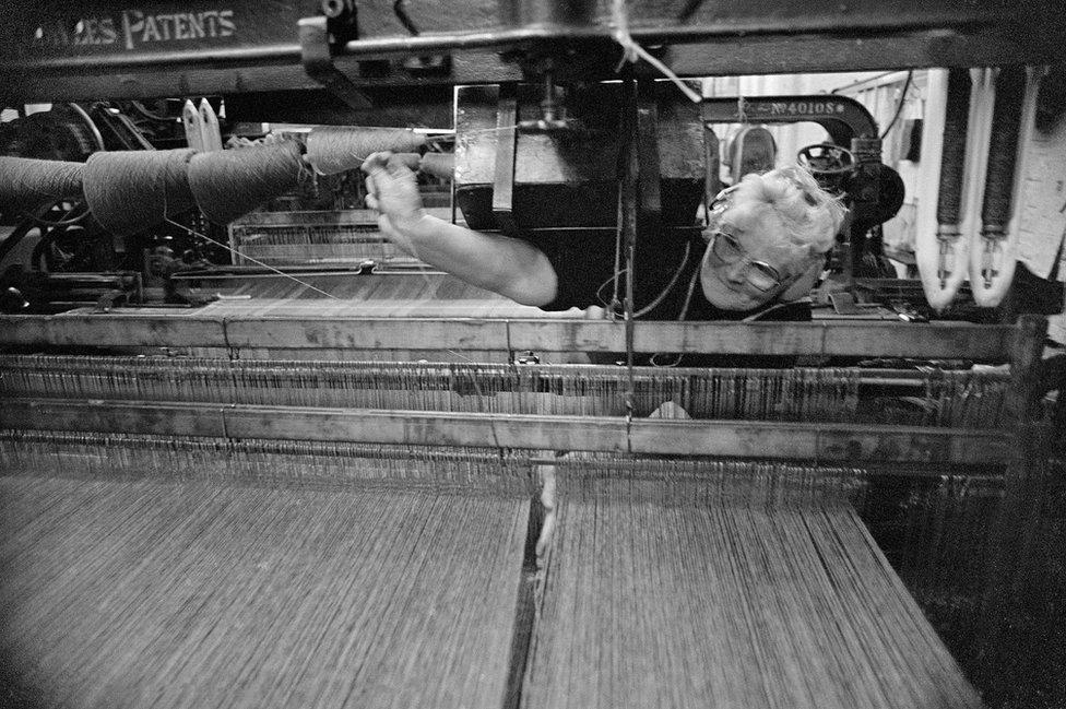 Weaver, Brora Mill