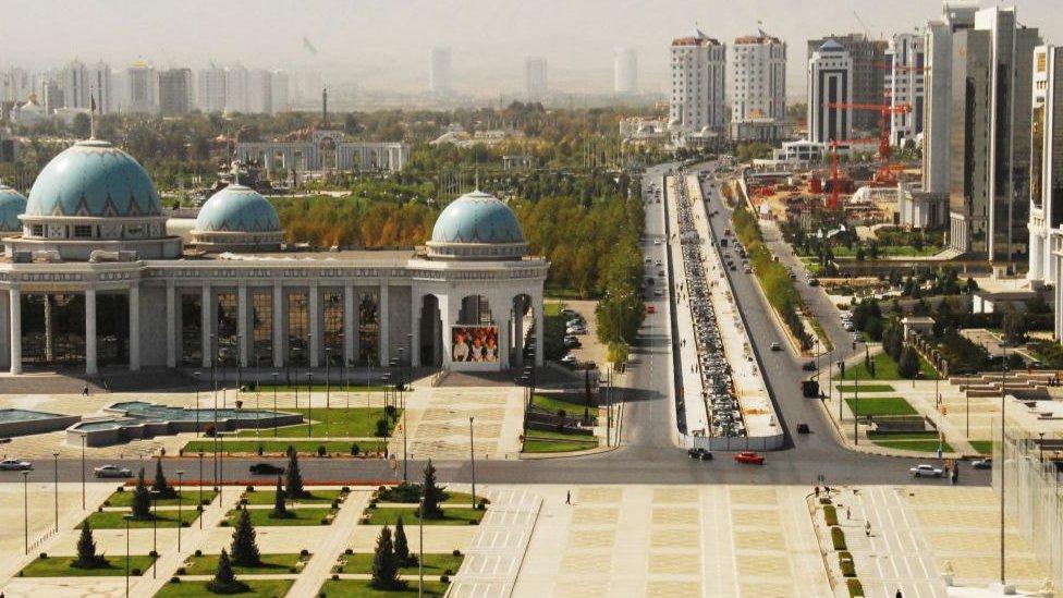 turkmenistan ulice