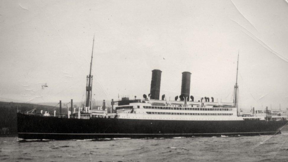 El SS Tuscania