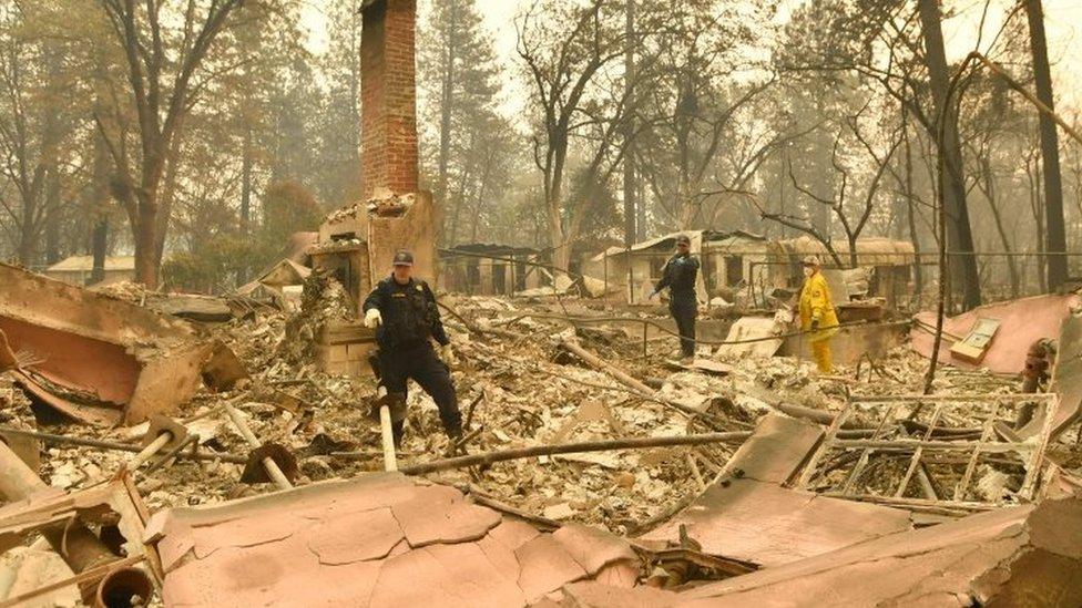 Grad Paradajz potpuno je uništen u požaru