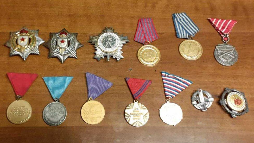 JNA, ordenje, vojska, JNA, Jugoslavija