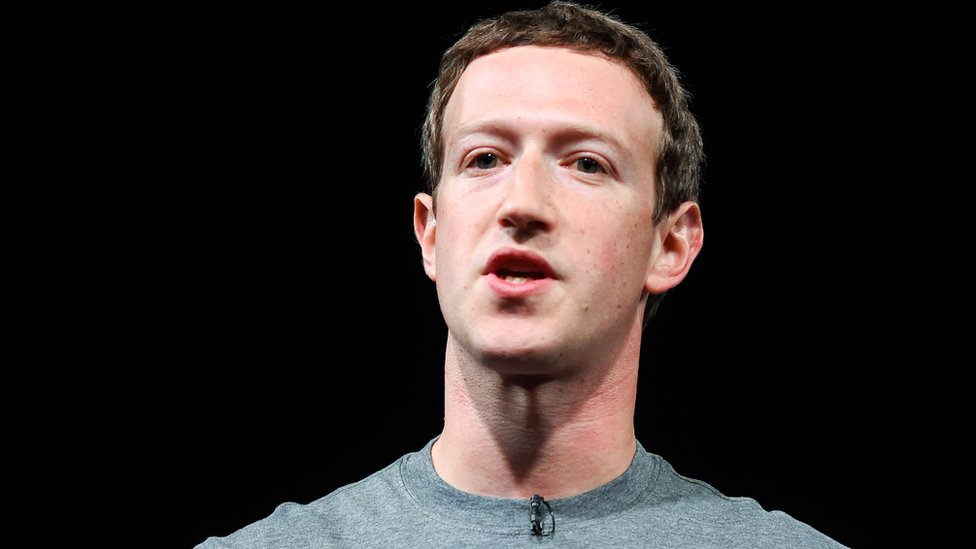 Founder and chief executive of Facebook Mark Zuckerberg in Barcelona, Spain, 21 February 2016