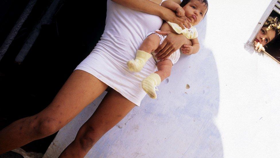 Madre adolescente en Brasil
