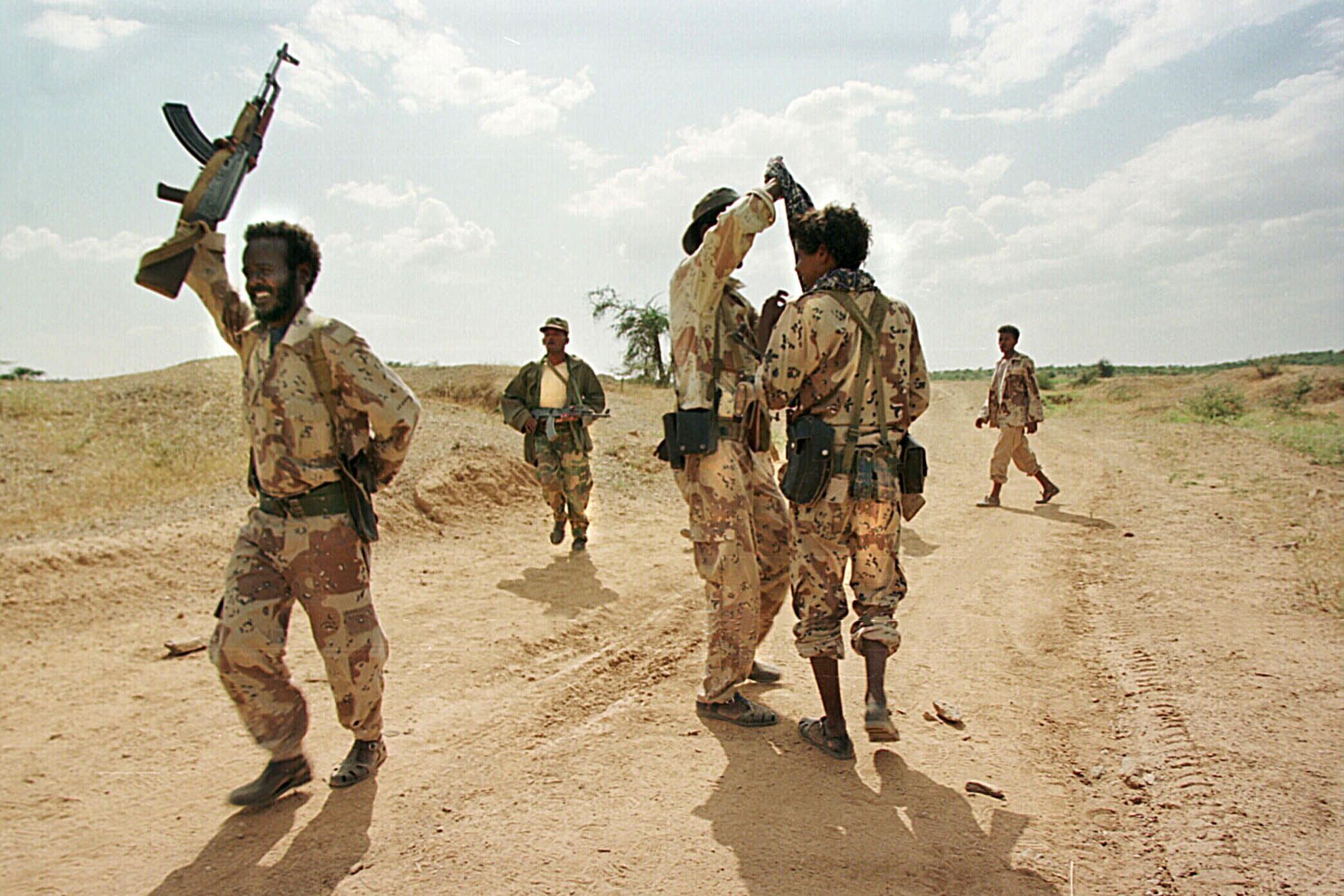 Eritrean troops