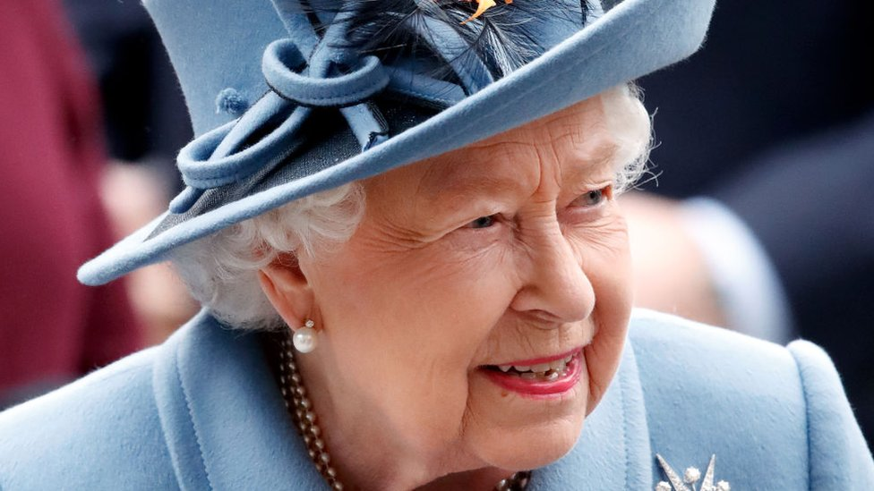 The Queen attends at Westminster Abbey on March 9, 2020