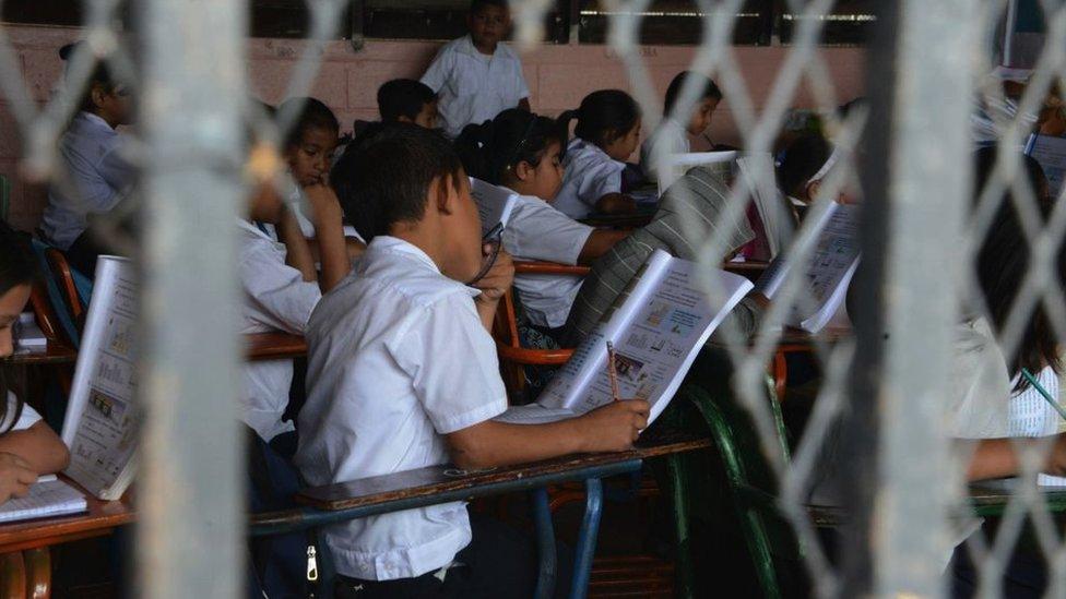 Escuela en Honduras