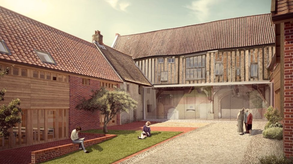 Norwich National Centre for Writing opens after revamp