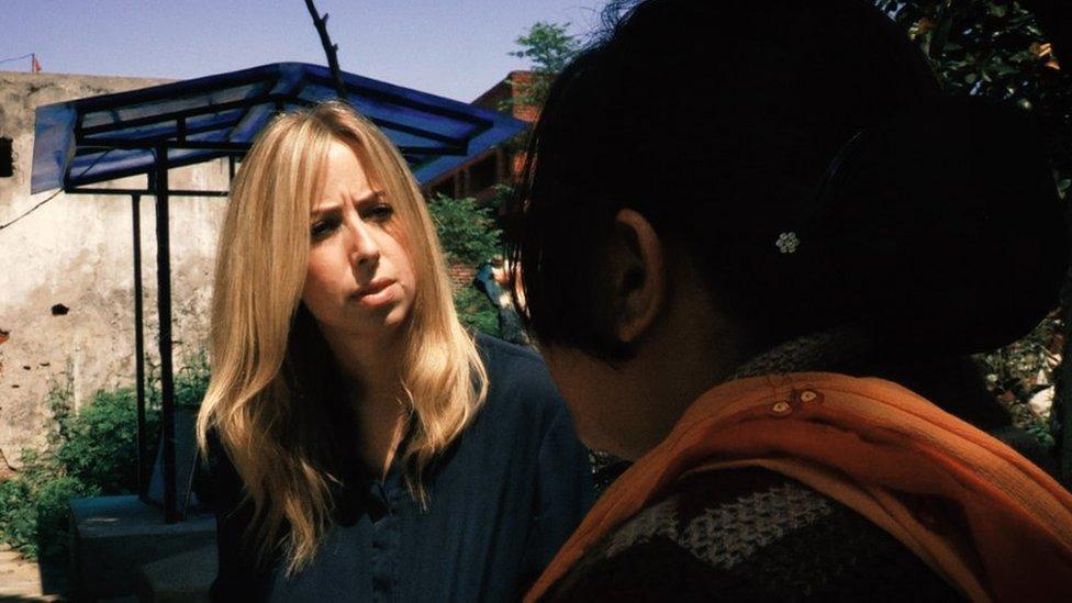 "Catrin Nye speaks to ""Sunita"""