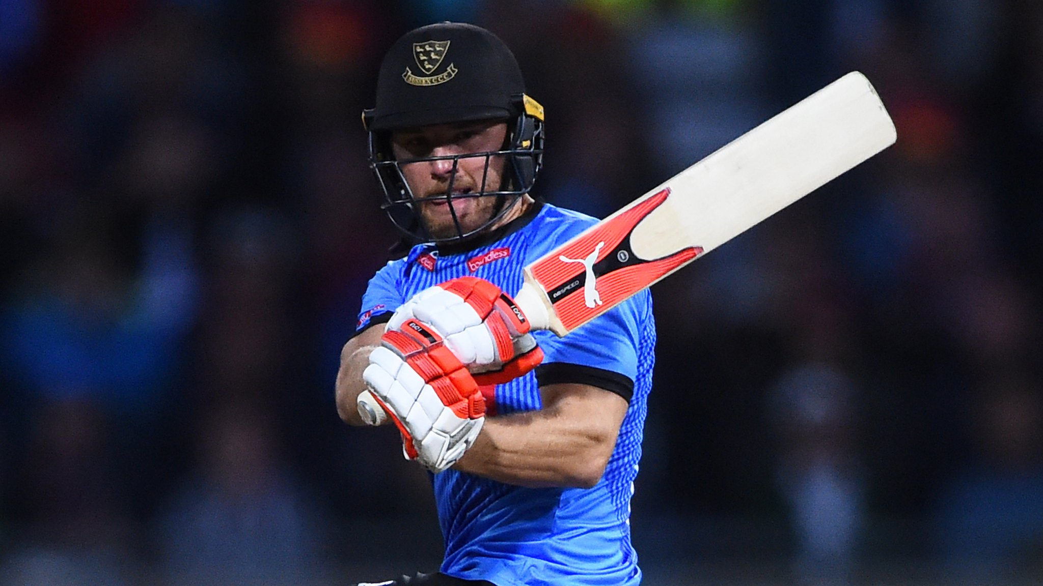 Laurie Evans: Sussex batsman extends deal
