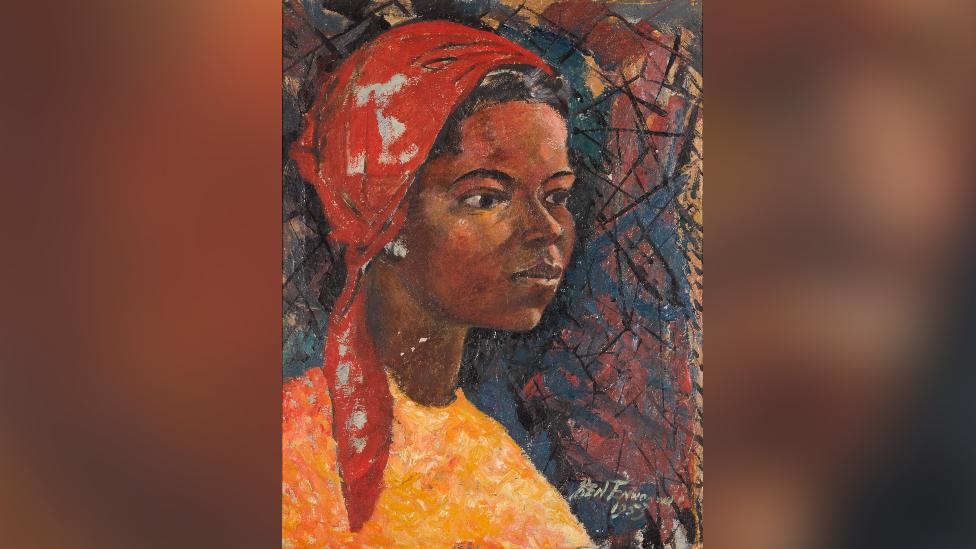 Painting of Regina