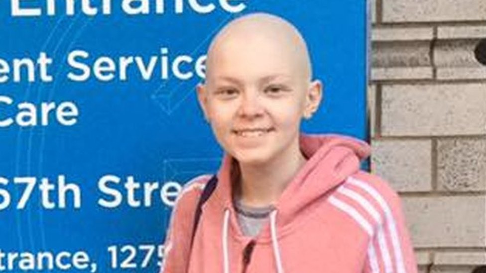 'The tumour is gone': Success for Edinburgh teenager after New York operation