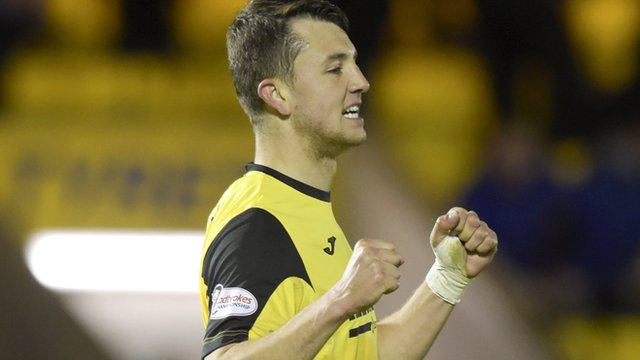 Livingston defender Craig Halkett