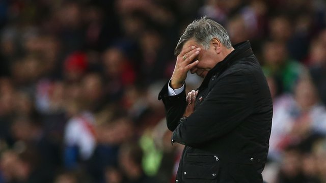 Sunderland 0-1 Southampton: Black Cats playing with fear - Allardyce