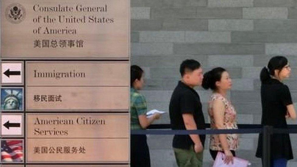 अमरीकी राजनयिकों के साथ चीन में ये क्या हो रहा है?