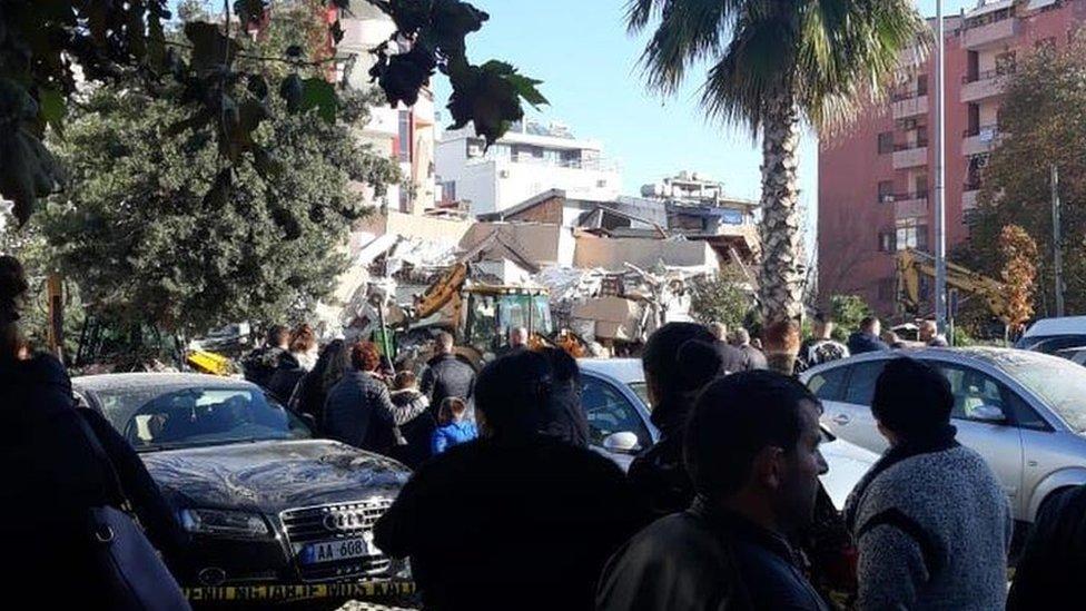 Zemljotres u Albaniji
