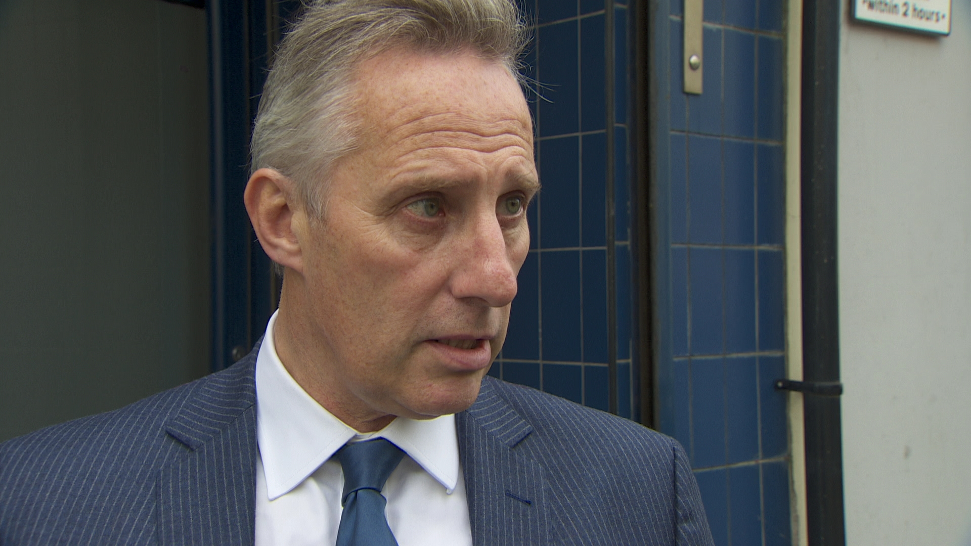 Ian Paisley: DUP MP 'stunned' and 'humbled' at keeping seat